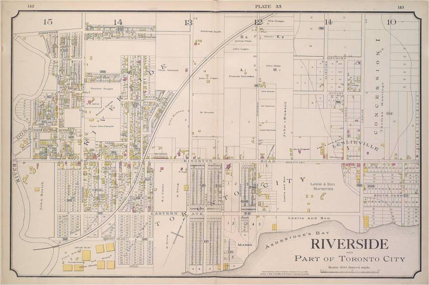 Leslieville 1884