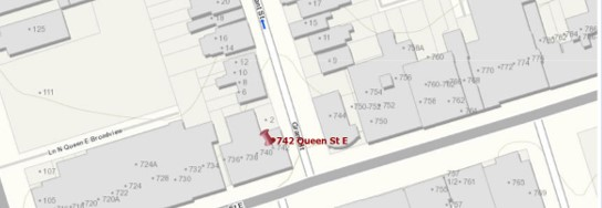 Location of the Orient Lodge 339, Poulton Block, City of Toronto Interactive Map Orient Lodge 339 now meets in Weston