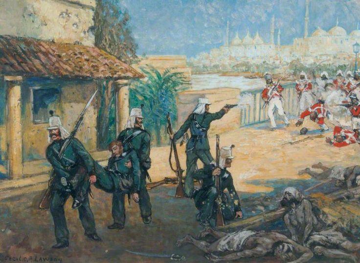 Rifle Brigade, Iron Bridge, India 1857