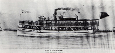 This 1904 rendering of KATHLEEN by Charles I. Gibbons