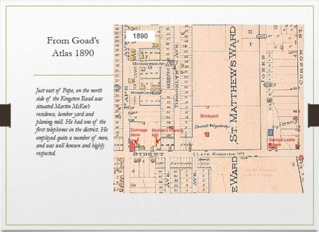 Goad's map 1890