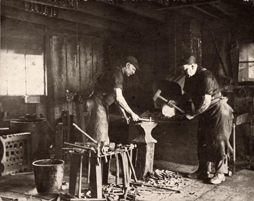 Shoeing forge ca 1905 OARCH