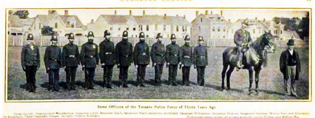 1878 Toronto police