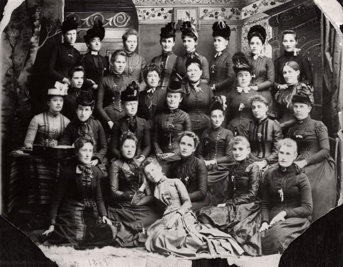 Group of WCTU meet in Toronto 1889 TPL