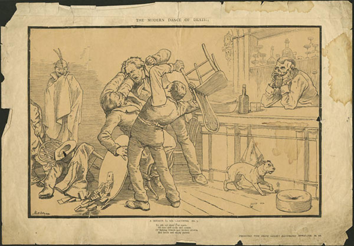 The Modern Dance of Death A Sermon in Six Cartoons  No  2