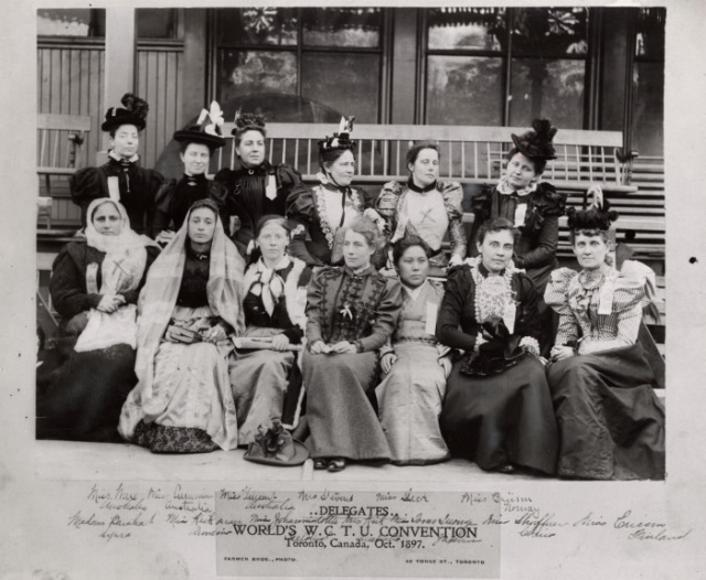 World's WCTU convention held in Toronto in 1897 TPL