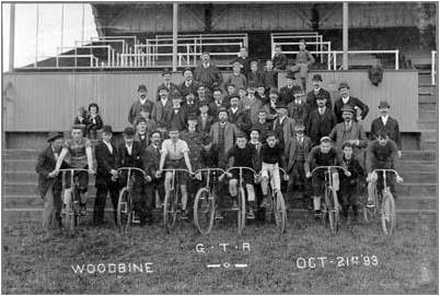 1893 Woodbine GTR Bicycle Club