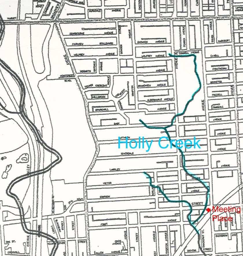 City of Toronto Creek Locations circa 1860 2