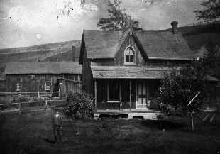 House in Milne Hollow 1884