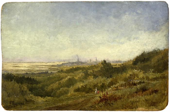 Michael Hannaford, Scarborough Heights, 1883