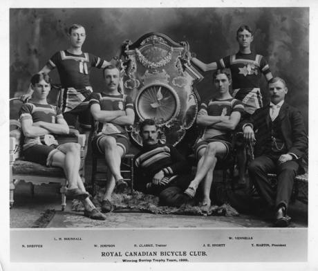 Royal Canadian Bicycle Club 1899