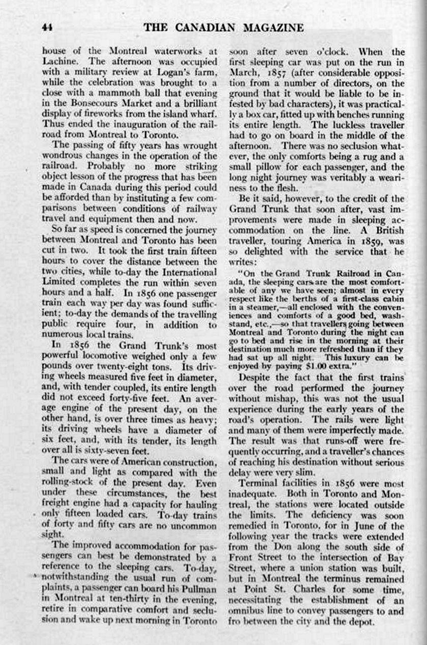 The Canadian Magazine Vol. 28, no. 1 (Nov. 1906) 44