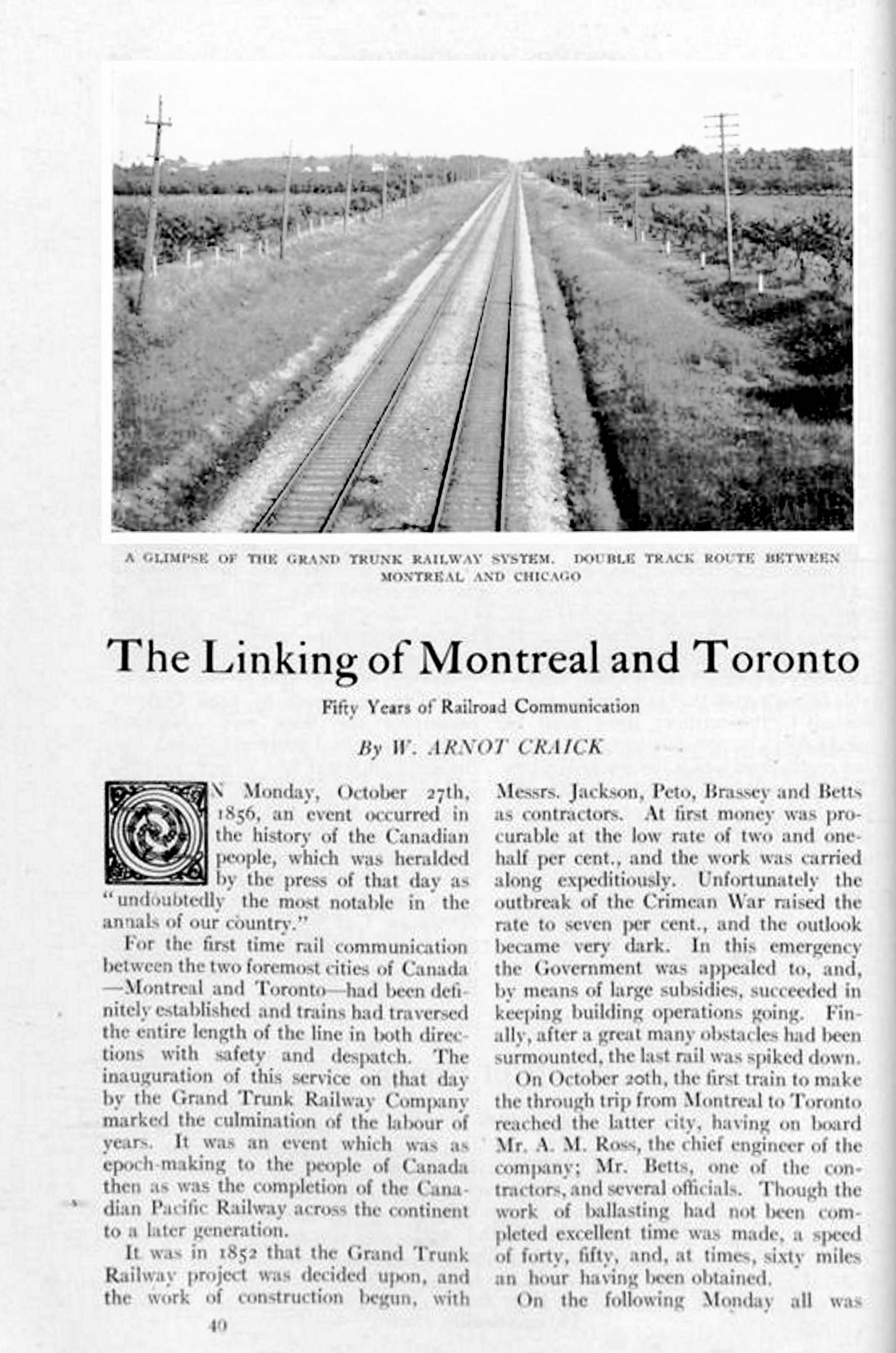 The Canadian Magazine Vol. 28, no. 1 (Nov. 1906)