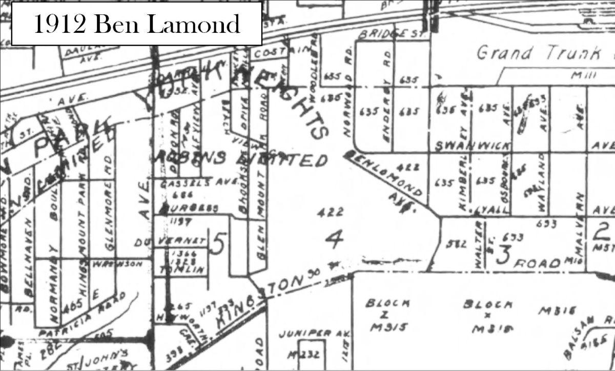 1912 Ben Lamond