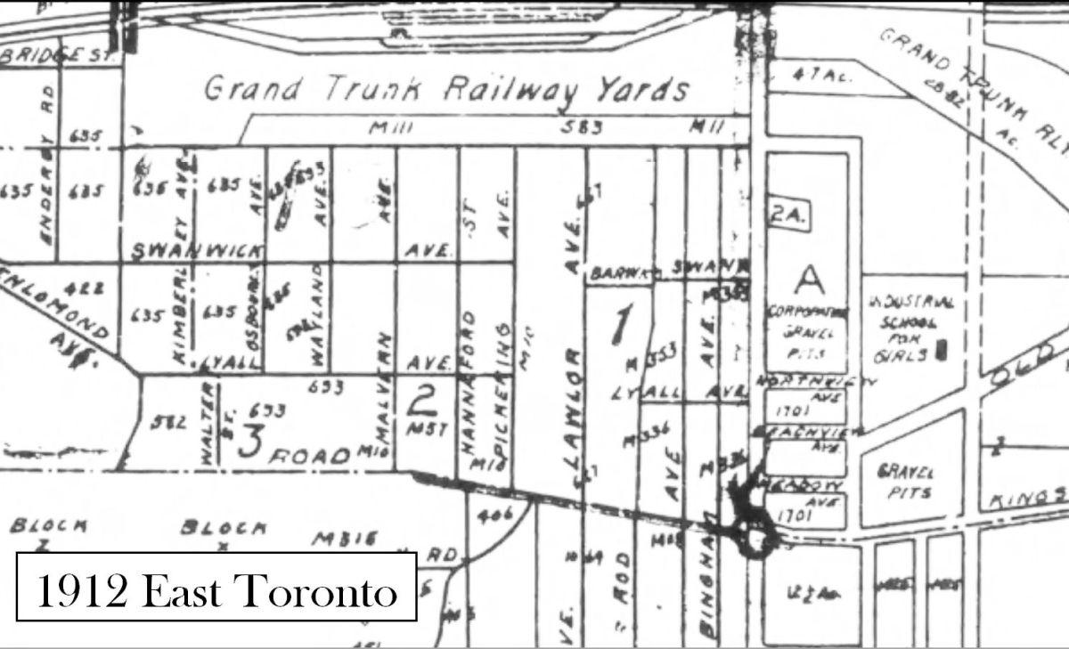 1912 East Toronto