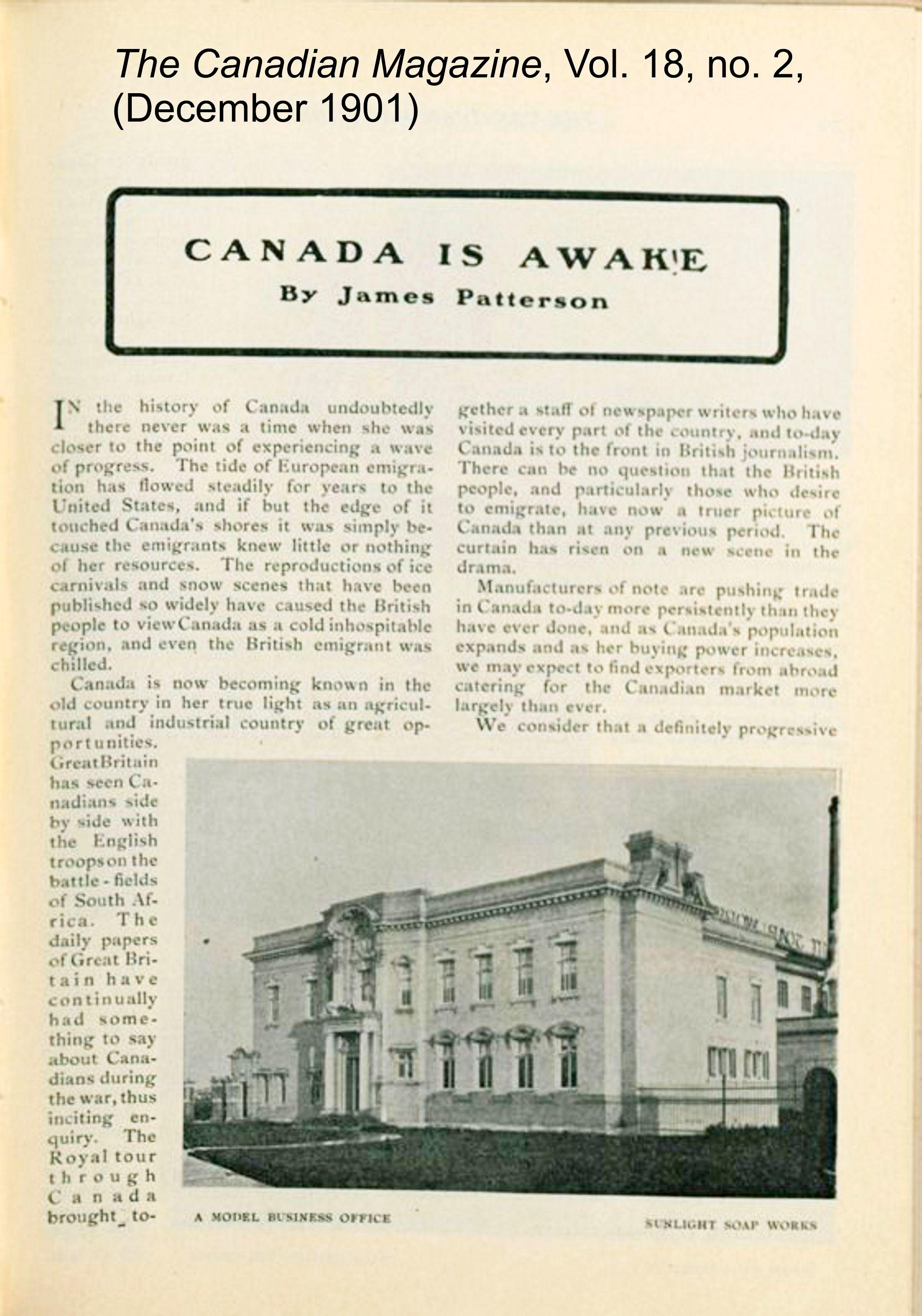 19011200 The Canadian magazine Vol. 18, no. 2 (Dec. 1901) 29