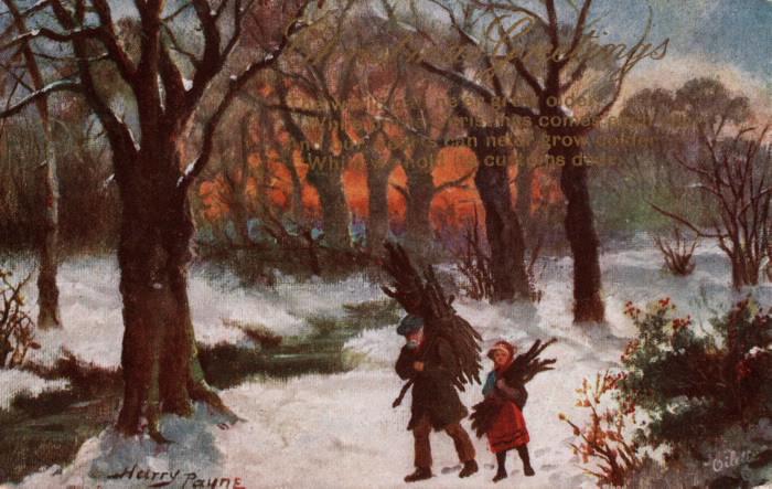 Christmas Greetings Harry Payne 1911 TPL