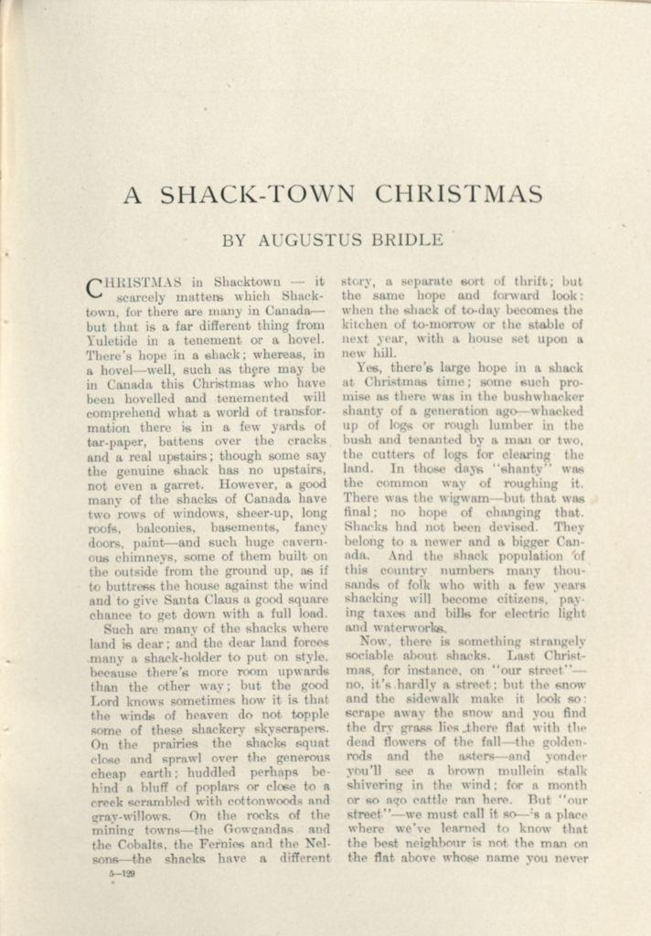 The Canadian Magazine Vol. 34, no. 2 (Dec. 1909) 1