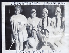 St Mathews church first ave, toronto, _Little Pink Lady_ production early 1920s