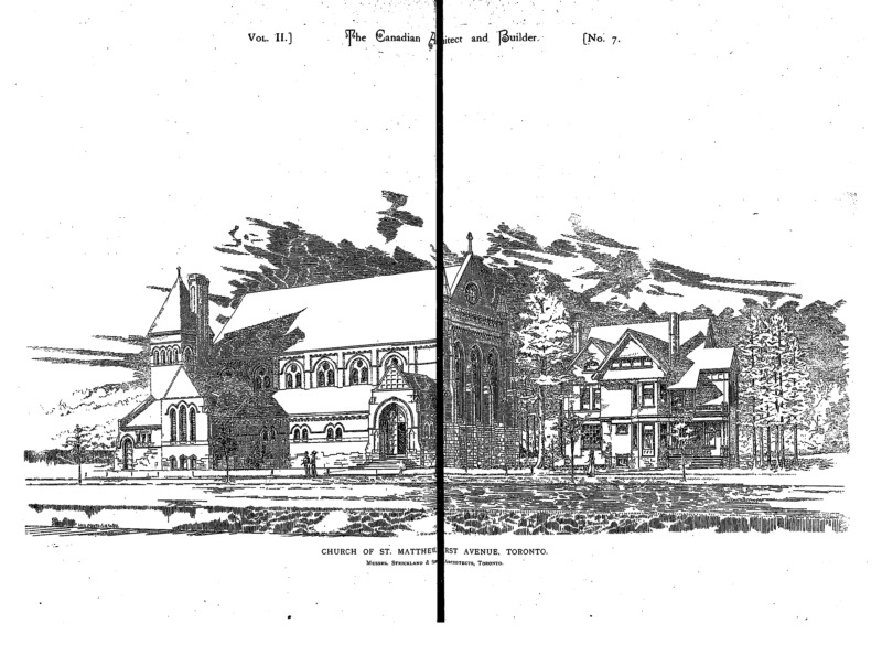 The Canadian architect and builder [Vol. 2, no. 7 (July 1889)]
