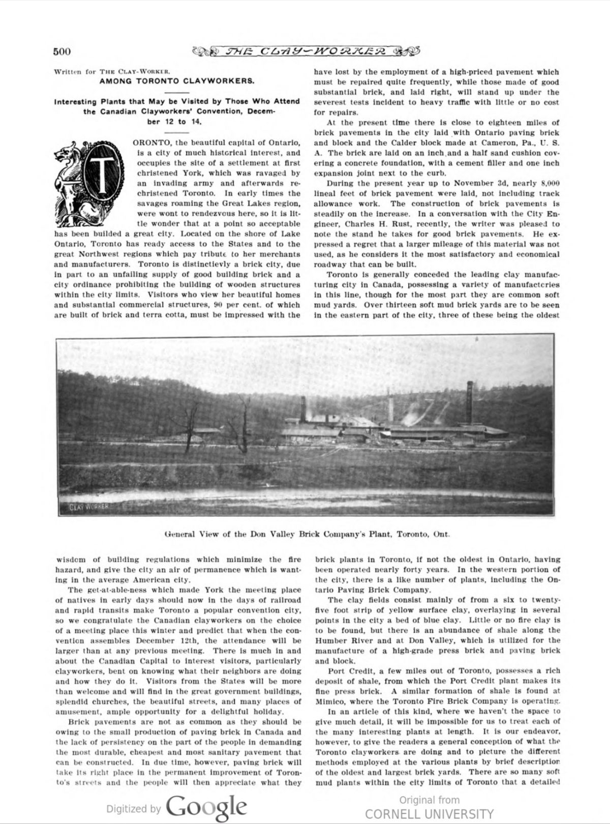 The Clay Worker Nov 1906 500