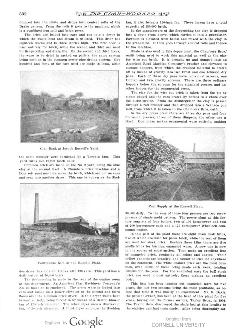 The Clay Worker Nov 1906 502