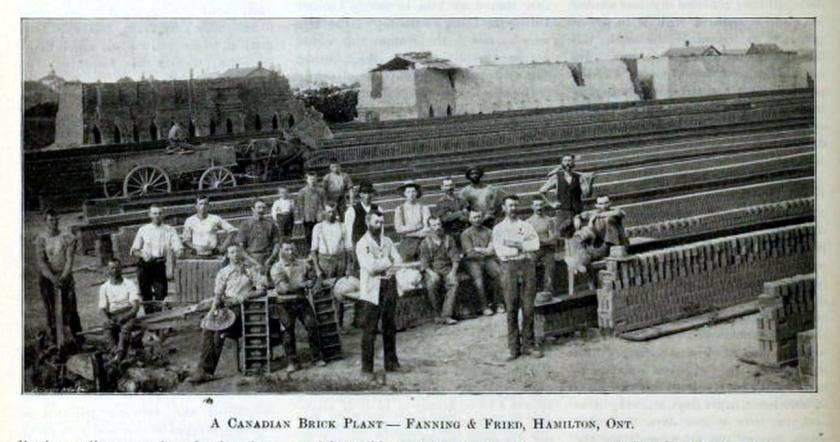 Clay Worker 1891 Laborers Hamilton