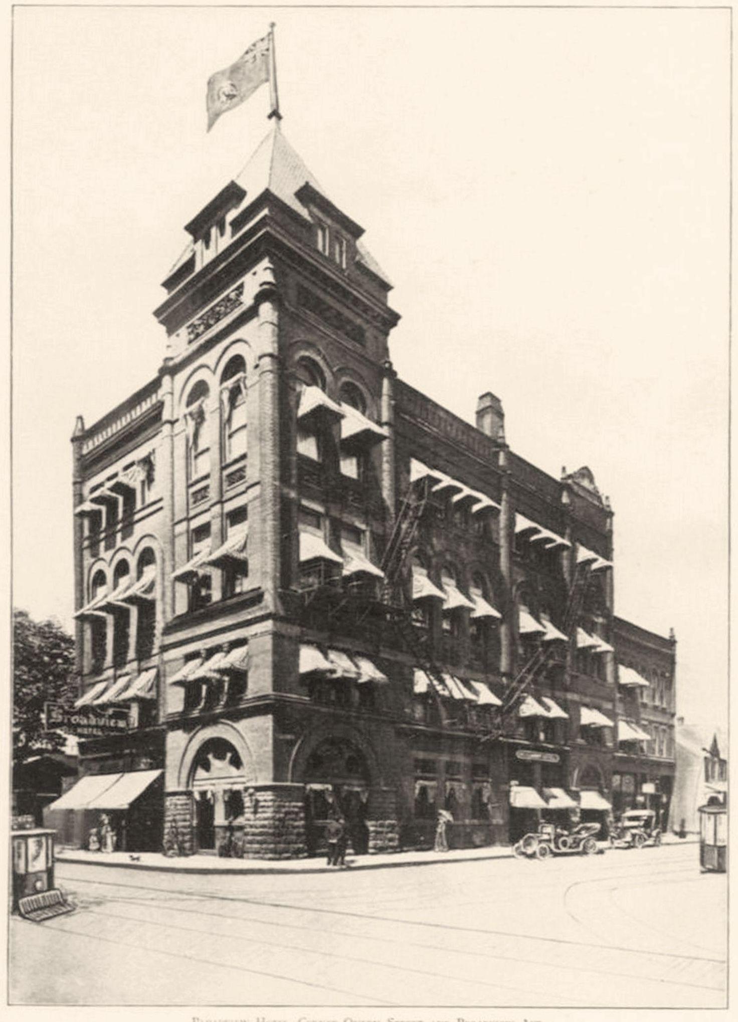 Toronto, Canada's Queen City 1912 Broadview Hotel