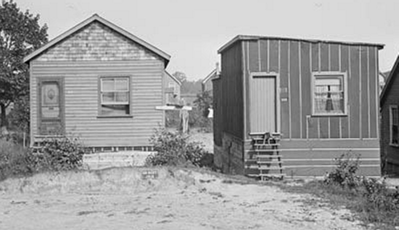 19100920 TARCH Shacks on Ashdale Avenue Sept 20 1910