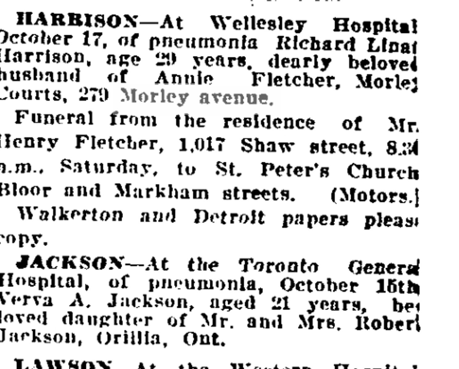 19181018GL Harrison pneumonia influenza
