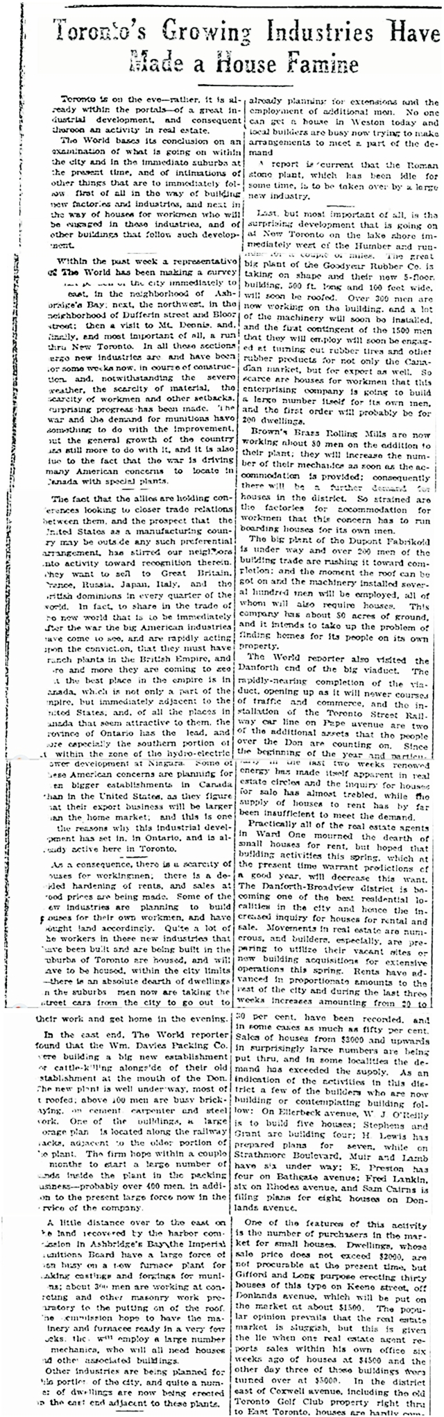 House Famine Toronto World March 10 1917a