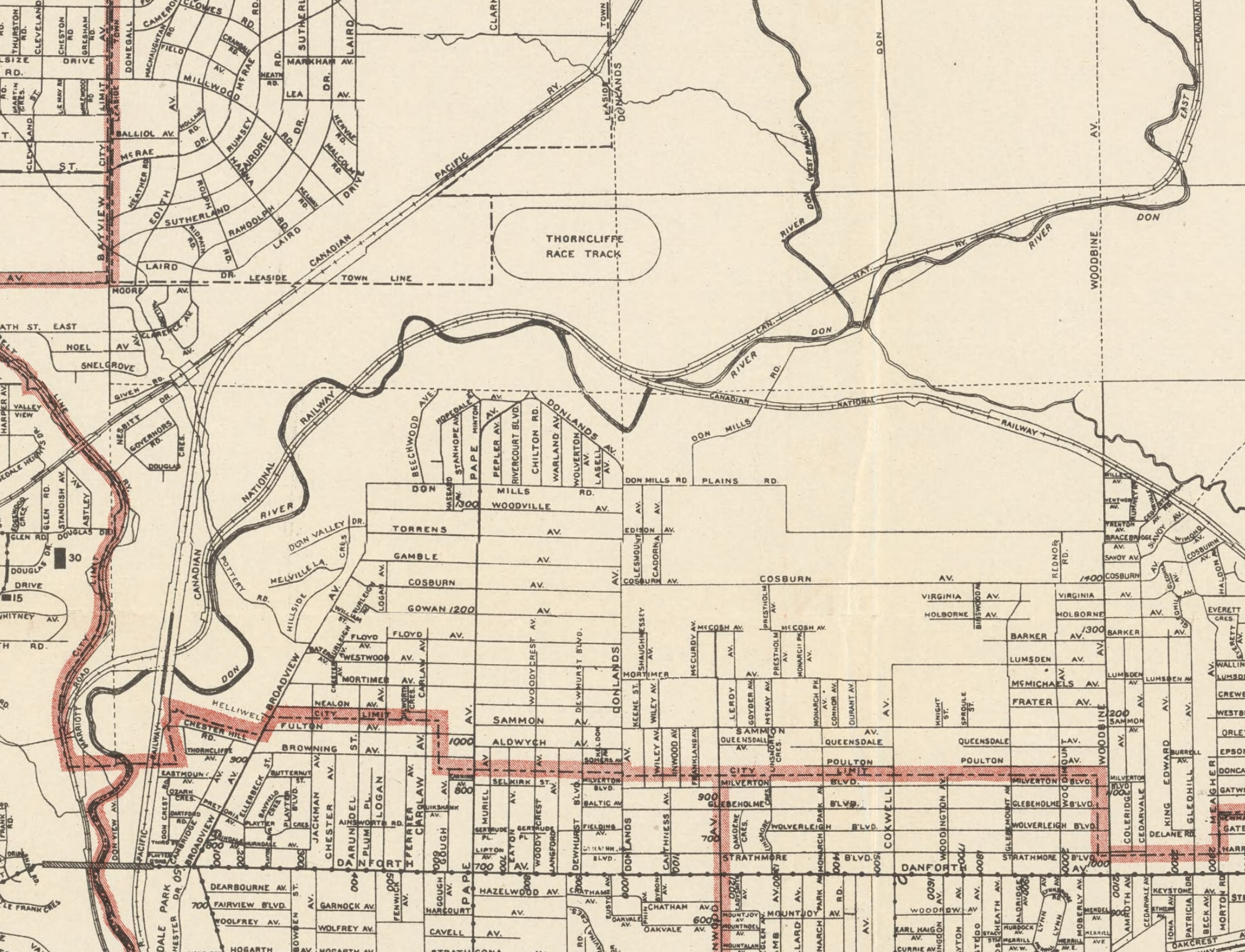 1921 Centre east