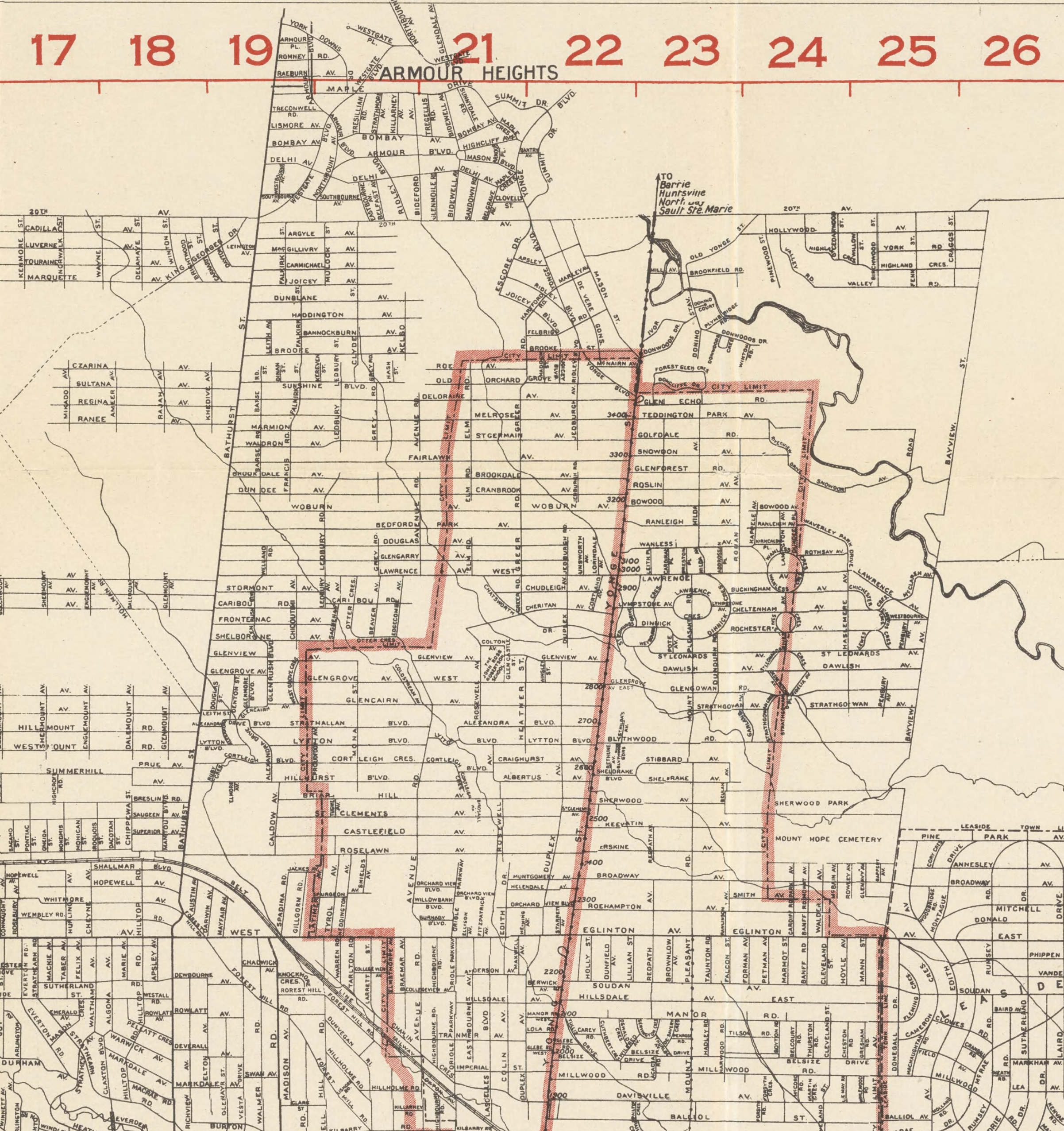 1921 North central
