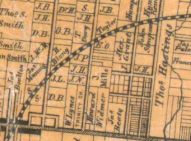 1860 Tremaine map