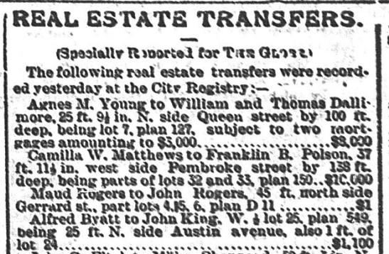 18880601 GL Real Estate Transfer
