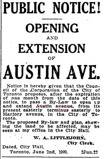 19090622 TS Extension Austin Ave