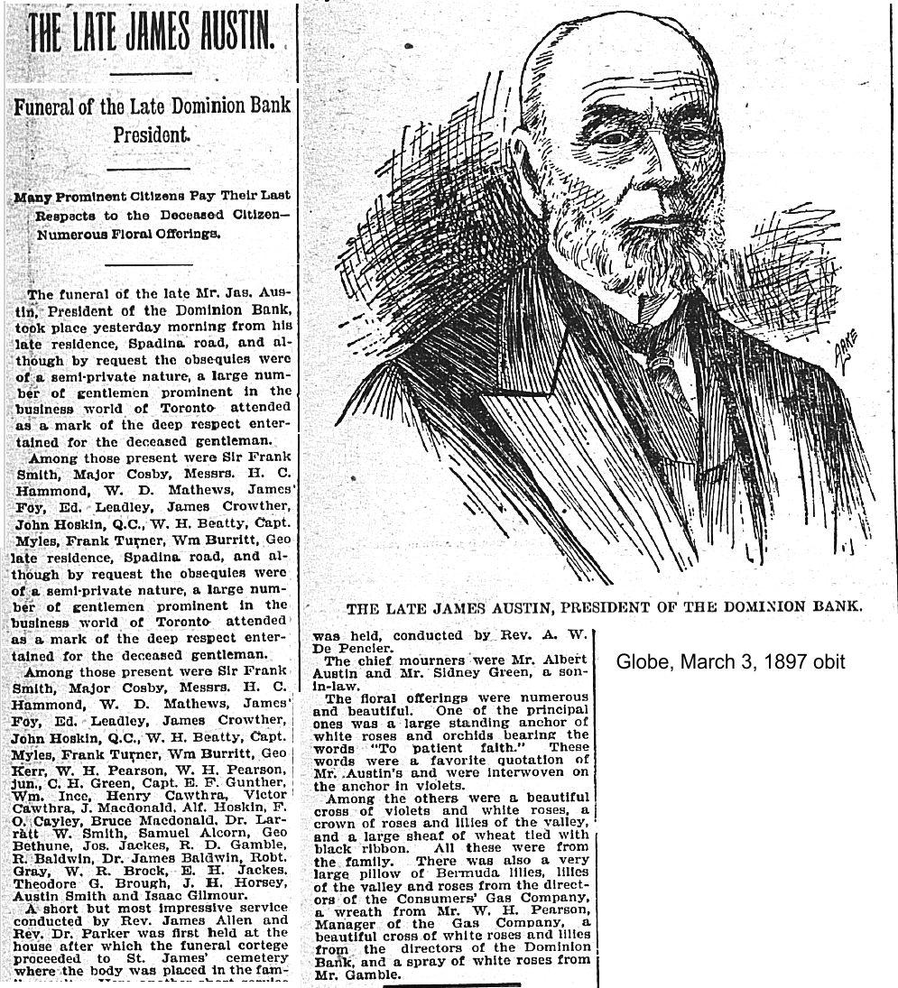 Globe, March 3, 1897 obit