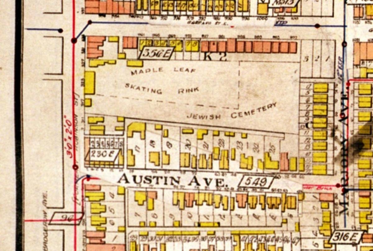 Map 1924 Austin