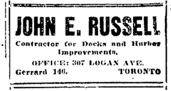 19151213 TS John E Russell ad