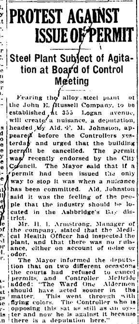 19180822 GL Steel plant John E Russell1