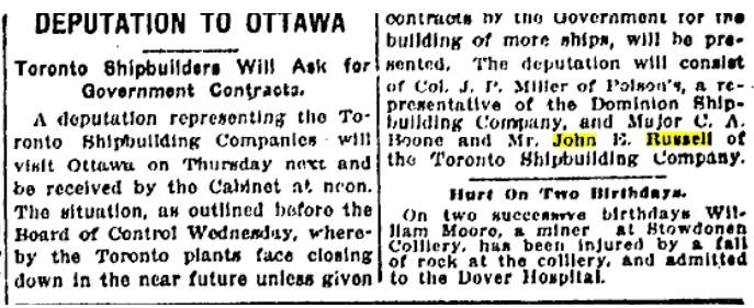 19190207 TS Toronto Shipbuilding company