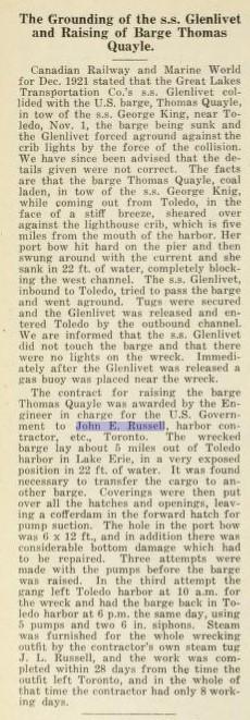 1922 January CRMW John E Russell p 50