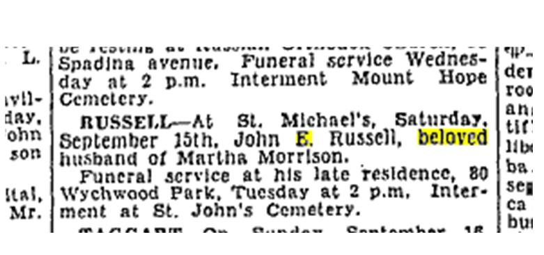 19340917 TS John E Russell death notice