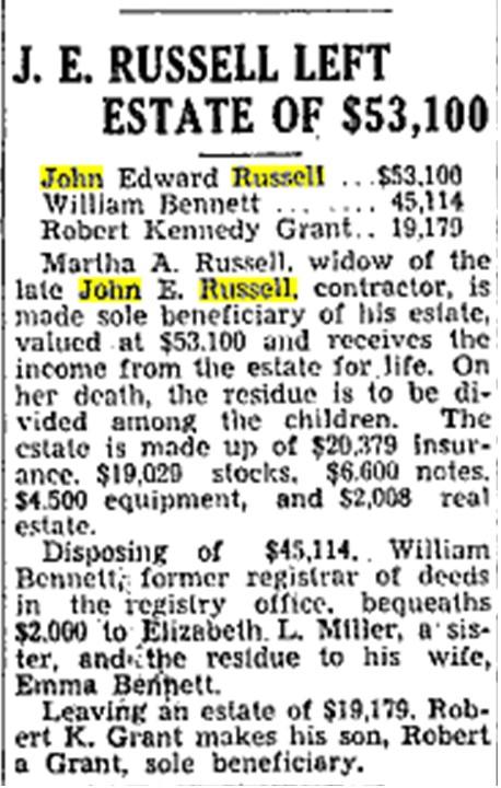 19341121 TS John E Russell will
