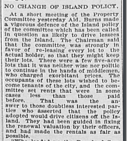 18960728 GL John Russell re Toronto Islanders1