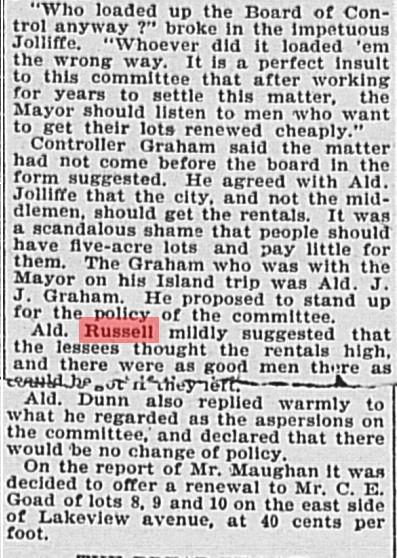 18960728 GL John Russell re Toronto Islanders2