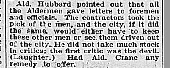 18970216 GL quote Hubbard, Globe, Feb. 16, 1897