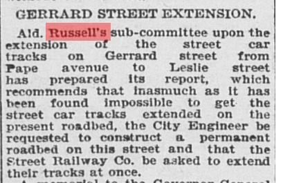 18970526 GL Extending Gerrard St