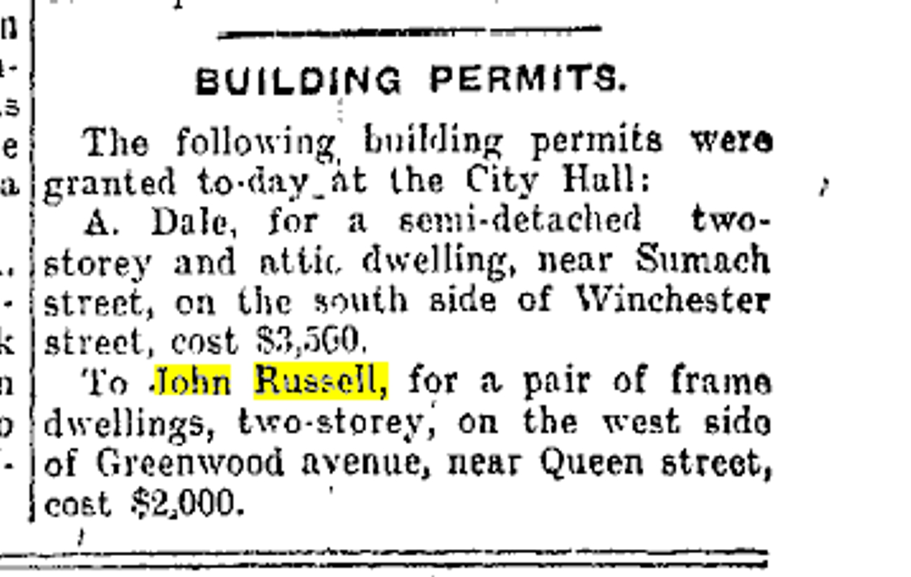 19030725 TS Building Permits