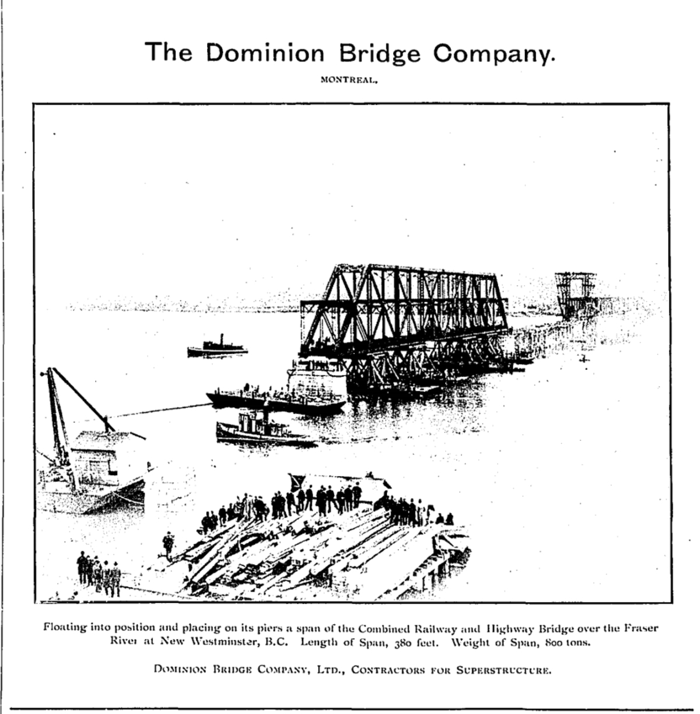 19040702 GL Great Events Dominion Bridge